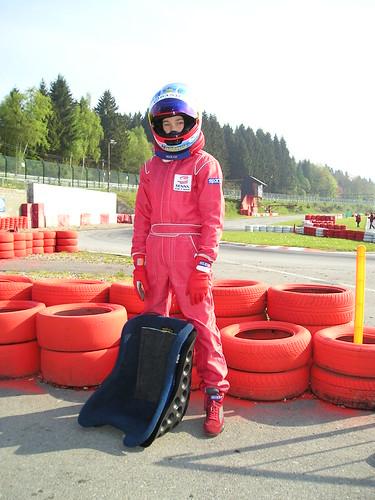 Sidney Van Nieuwenhove Cart Racer from Belgium