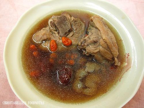 紫金堂香草美人餐D3午蔘仲四物雞湯