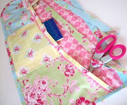 """Pretty Pastel Craft Apron"""