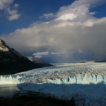 Perito Moreno in the first light of the day