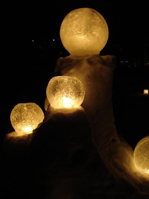 ice lantern globes