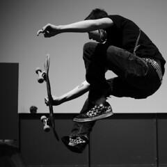 Rockin (MarxizM) Tags: blackandwhite bw rock delete10 wisconsin delete9 skulls delete5 skull delete2 delete6 delete7 save3 delete8 delete3 delete delete4 save save2 chain skatepark verona skate skateboard skater tatoo delete11 studded delete12