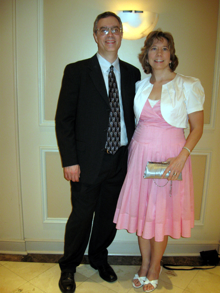 The Gryphon and Alyce at the Banquet (Click to enlarge)