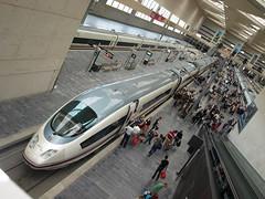 AVE Madrid-Barcelona (G.O.R.) Tags: madrid tren diagonal zaragoza ave altavelocidad
