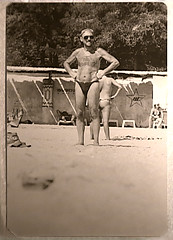 Odessa 1960 (Paul Micheal Sazhin) Tags: sea man beach fashion sex vintage photo style odessa ukraine retro 60 1960 мода море секс пляж фото украина ретро мужик black38white одесса стиль винтаж павелсажин paulsazhin paulplaid
