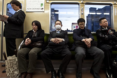 New Odyssey (WilliamBullimore) Tags: people japan train candid transport jp transit osaka publictransport osakafu