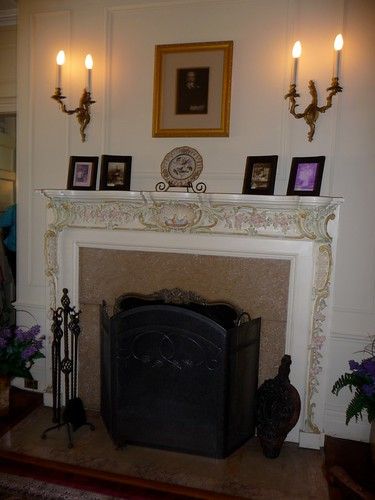 Mrs. Cutting's Fireplace