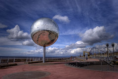 South Shore, Blackpool (Mark-F) Tags: sky angle wide promenade clourds bigone mirrorball blackpool glitterball markf markfreeman sonyalpha300