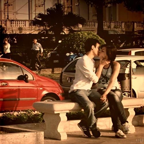 Kiss me tender...