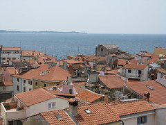 Roofs of Piran (Been Around) Tags: panorama europe eu roofs slovenia piran slowenien slo overview adria istria pirano istrien sloveenia worldtrekker visipix bayofpiran