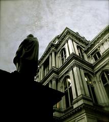 Moody Statue