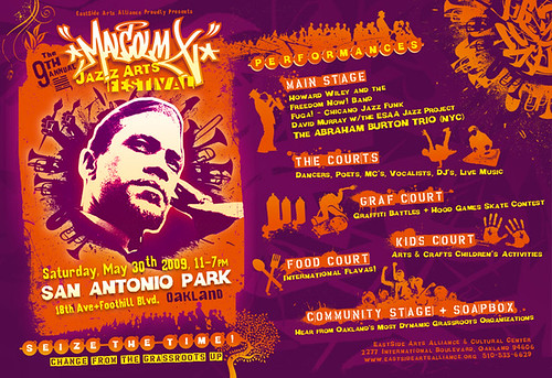 9th Annual Malcolm X Jazz Arts Festival - May 30