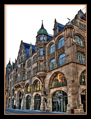 Zara store in Strasbourg (Mike G. K.) Tags: old windows france building shop architecture store strasbourg alsace hdr zara photomatix tonemapped tonemapping singlejpghdr