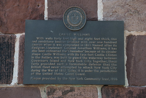 Castle Williams history