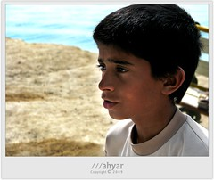Sea Boy (///ahyar) Tags: boy sea portrait color beautiful portraits canon photography islands persian gulf iran picture gathering  qeshm      mahyar  seyfi s5is