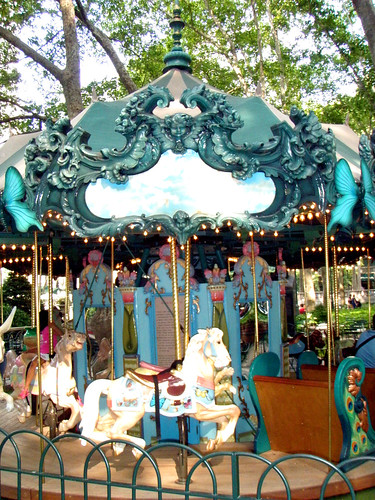 Bryant Park Carousel! 3