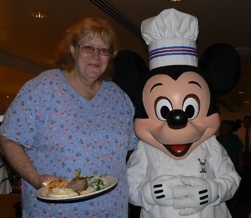 Nana and Chef Mickey