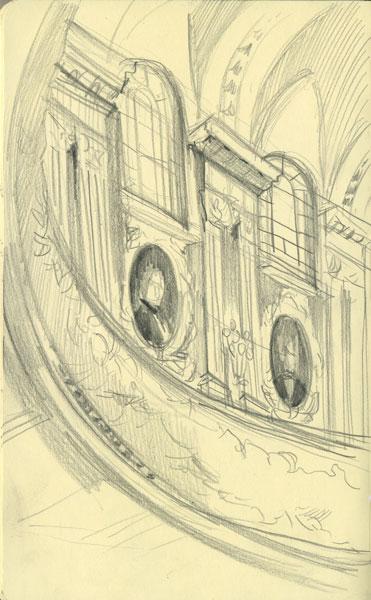 Интерьер концертного зала им. Чайковского