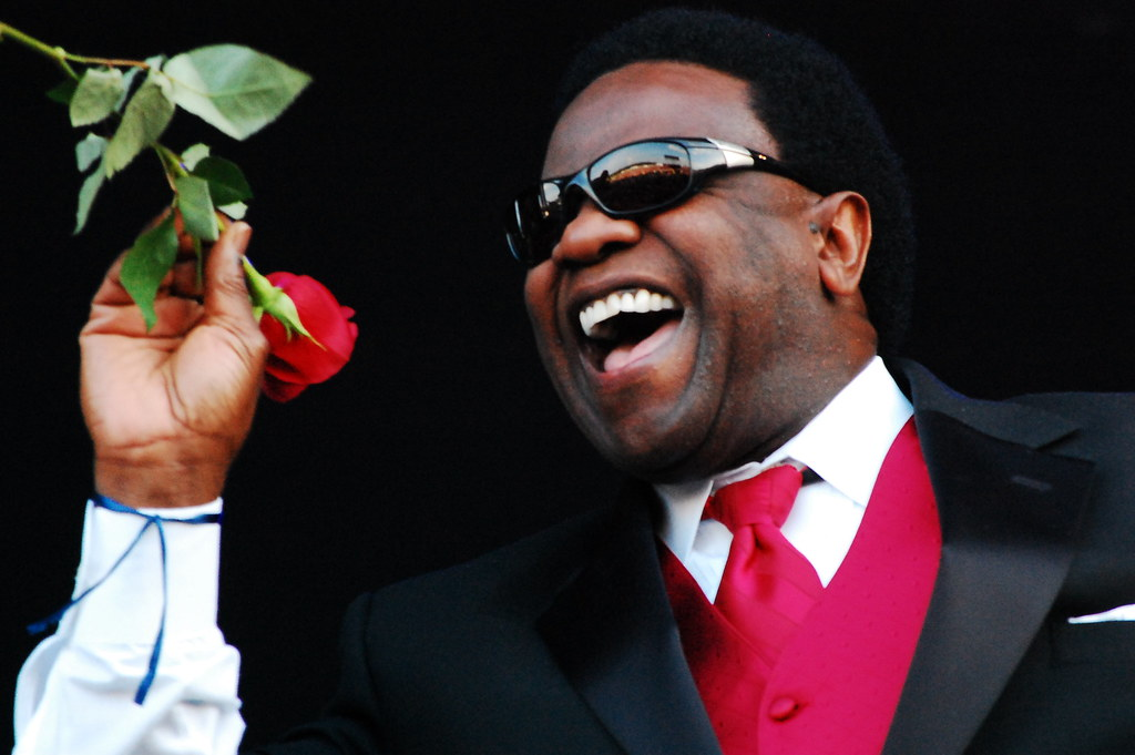 Bonnaroo '09 Friday: Al Green would like to give you a rose. (Oh, and also: Phish!)