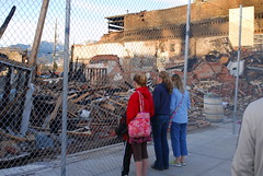 (fotohayes) Tags: aftermath montana bozeman downtown explosion d200 2009 brianhayes northwesternenergy