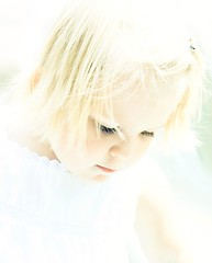 An Angel (Ekler) Tags: light portrait sunlight white haircut cute girl beautiful face look childhood vintage hair children outdoors photography photo kid high exposure poem child looking eyelashes dress natural wind little expression daughter picture adorable windy sunny down pic lips blond cheeks annamaria angelic brightness bose todler artisitic portrature evolt sart cutness brigt ekler oldschooldigital olympuse410 livingangels soloha raymondfoss