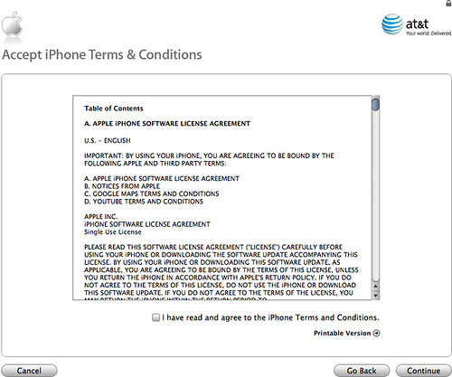 iPhone AT&T Activation Failure 2