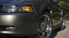 American Muscle (Desfolio) Tags: car headlights mustang sideview d40