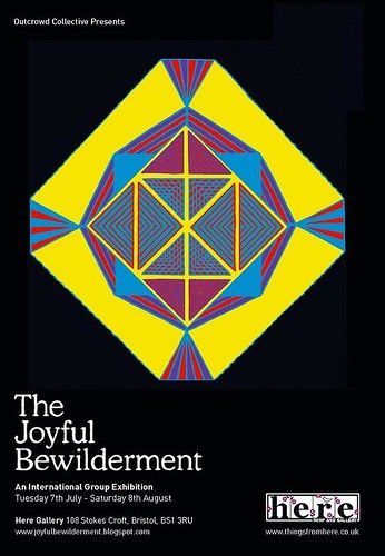 The Joyful Bewilderment - flyer