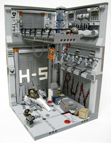 LEGO plague zombies in space