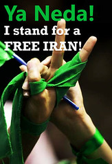 Ya Neda (aurelientt) Tags: green freedom movement iran protest free protests ya neda agha soltani