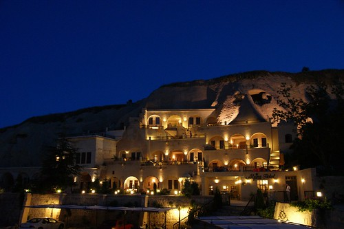 Alfina Cave Hotel at Nevehir, Turkey