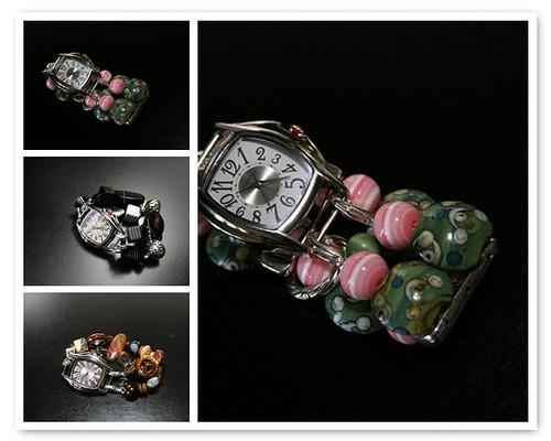 Beaded Watch Bracelets