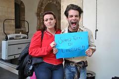 Loredana e Andrea (lingue) (Redazione Step1) Tags: universit catania studenti lingue sostegnobizzarro
