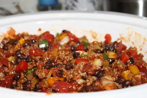 Black Bean Chili - Slow Cooker (3)