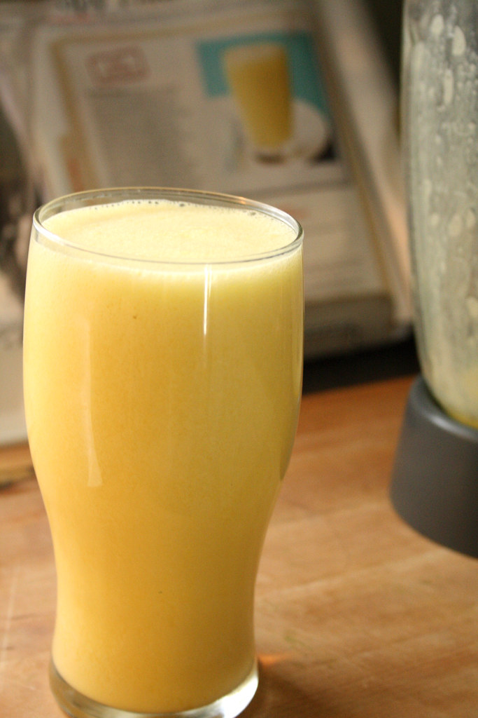 Food Network's Almost-Famous Orange Milkshake