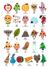 Alphabet (^w^ *o* `- u_u) Tags: baby cute love fruit illustration children object vegetable characters alphabet digitalillustration bukubuku silviaportella kidsalphabetillustrationdigitalillustrationsilviaportellabukubukucharacterscutefruitvegetableobjectlovechildrenbabykids
