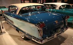 1957 Nash Ambassador 2d htp - Pacific Blue Solitaire Blue Frost White - rvl