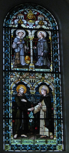 St. Bruno, St. ??, St. Francis, St. Dominic