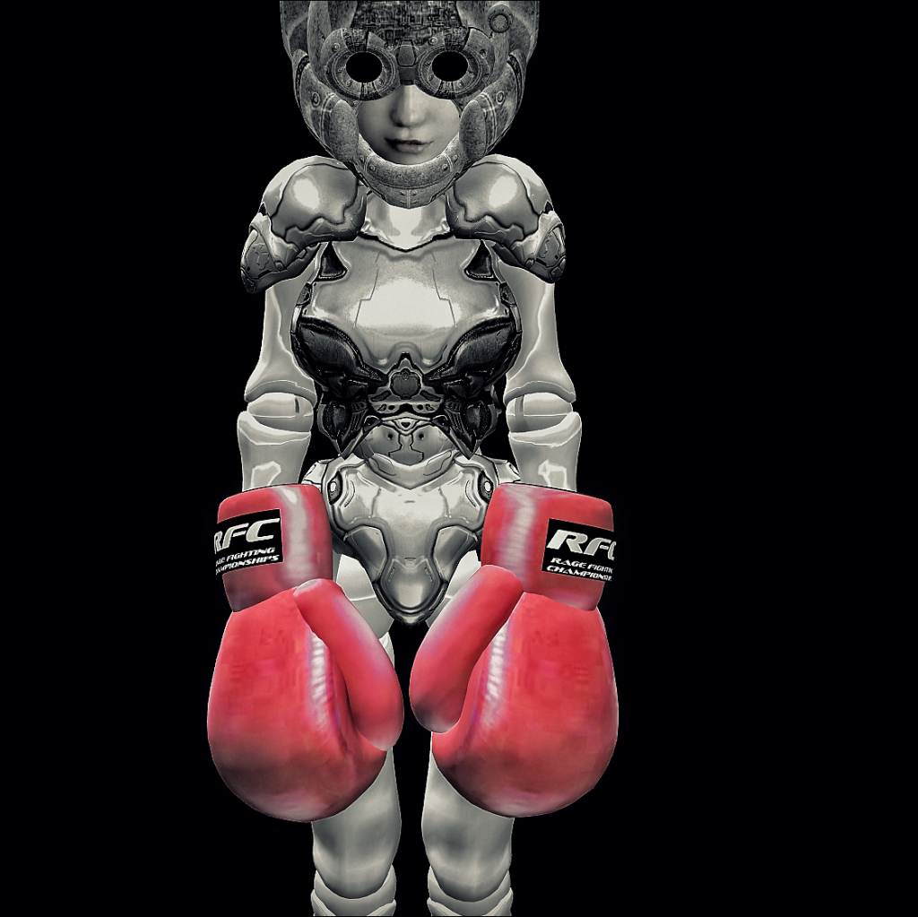 RAGE boxing gloves(Free!!)