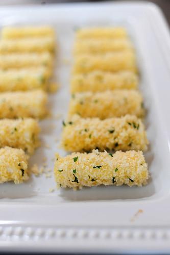 Quick Mozzarella Cheese Sticks Recipe