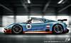 Porsche 918 Gulf race-trim.. (Luuk van Kaathoven) Tags: blue orange race df gulf racing porsche van trim rendering 918 luuk rsr drivingfun luukvankaathovennl kaathoven drivingfuncom