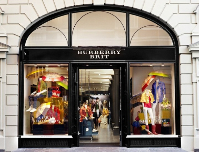 Burberry Brit Store - Covent Garden - Exterior