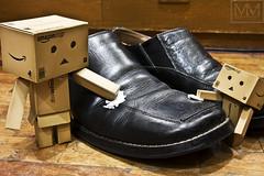 Day 147 - Shoeshine Boys (marvvvn) Tags: danbo danboard