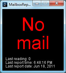 Mailbox Monitor No Mail Notification