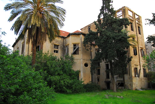 Landscape view of Mansion