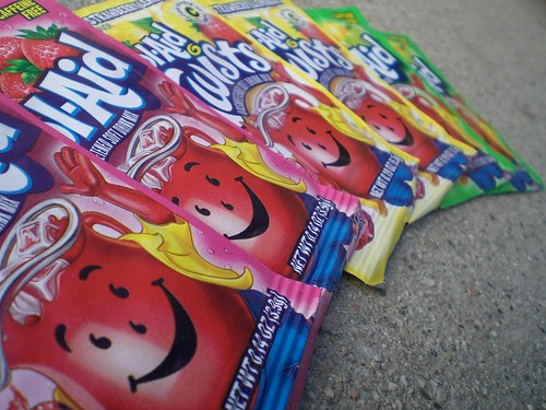 Kool Aid to dye with