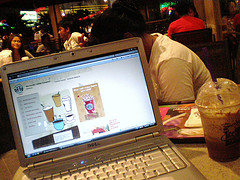 the day i was browsing from TCB&TL, but using wireless from starbucks!
