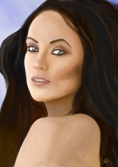 Olivia Wilde Portrait by -U G L Y- ^___^