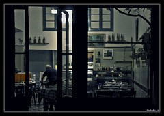 call it a day (Michalis.. [..]) Tags: night greek restaurant hellas athens cleaning greece tavern handheld athina syntagma monastiraki      nikond300