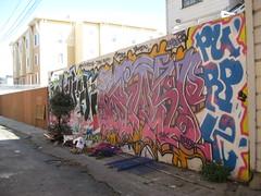 Purple, Grasp (a_fighter) Tags: sanfrancisco graffiti purple grasp ivk